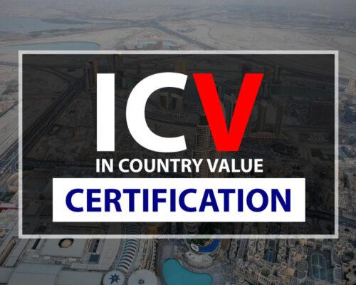 ICV Certification in Dubai ICV Audit ICV Auditor ICV Certification